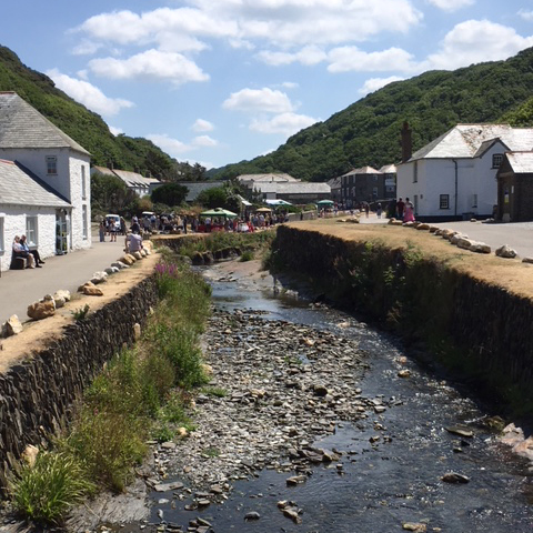 holidays near boscastle in cornwall camping and caravanning fishing holidays n